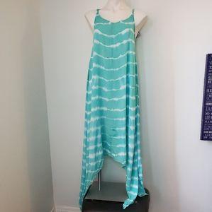 NWT Raviya Tie-Dye Handkerchief Maxi Dress S